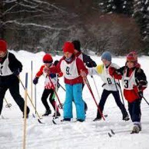 lyžování běh