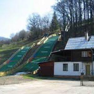 lyžování skok 2